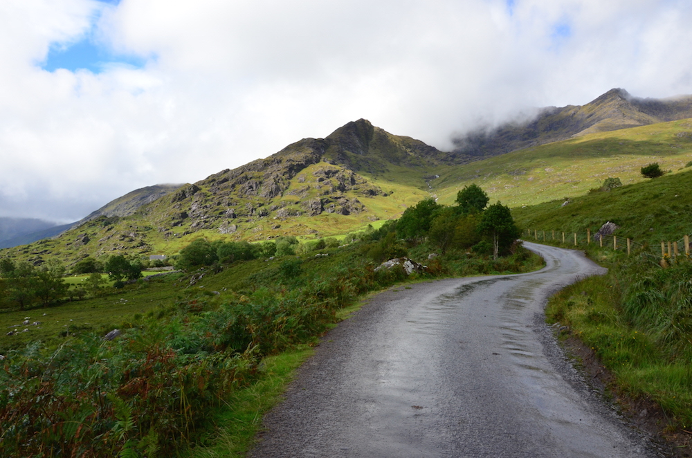Climbing the Gap of Dunloe. Photo: Fergal Flannery