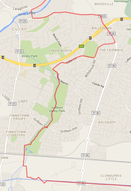 Green Route To Lucan